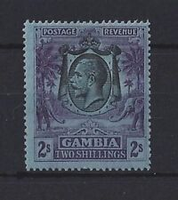 Mint Hinged George V (1910-1936) Gambian Stamps