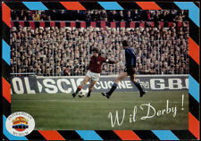 cartolina pubblicitaria PROMOCARD n.1573 INTER & MILAN MUSEUM serie derby n.1