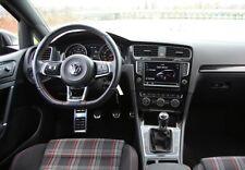 Kit 4 Pièces Pédalier Alu Aluminium VW Golf VII 7 5G GTI R Manuelle Sans Percer