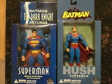 DC Direct 6 inch Superman The Dark Knight and Superma Batman HUSH Action Figure