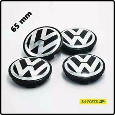 LOT de 4 Centres de roue VW 65mm cache moyeu de jantes VW GOLF MK5 MK6 MK7