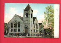 HUNTINGTON INDIANA IN CENTRAL CHRISTIAN CHURCH POSTCARD