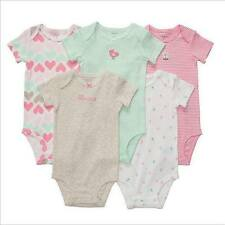 "Carter's 5 in 1 Bodysuit - GBC-611 ""Little Princess"" (Heart Print), Size: 18 mos"