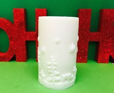 1 x Christmas Silicone Candle Mold-Reindeer,stars, christmas trees 5.5CM x 9.5CM