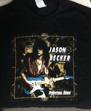 Jason Becker PERPETUAL BURN Music T-Shirt MEN Black