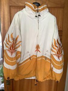 Bogner Ski Jacket Pullover Smock Made In Germany Size M L XL Super Cool Piece