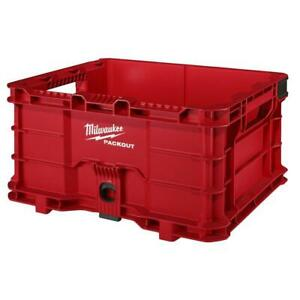Milwaukee 48-22-8440 PACKOUT Impact Resistant Tool Storage System Crate