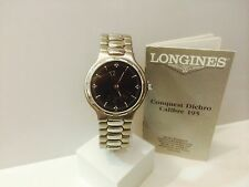 OROLOGIO LONGINES COLLECTION CONQUEST DICHRO L1.622.4.15.6  -NUOVO-