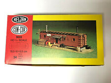 Heljan Con-Cor HO Scale Model Engine Crew Shed 9033 1:87 34 Parts Unassembled
