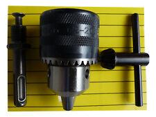 Bohrfutter mit SDS Plus Adapter+Bohrfutterschlüssel Zahnkranzbohrfutter1,5-13mm