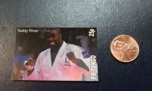 Teddy Riner French Judo Judoka Olympic P.R. Tongo Non Perforated Stamp
