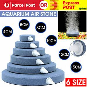 6SizeRound Air Stone Disk Bubble Diffuser Airstone Hydroponics Aquarium FishTank