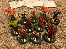 Heroclix 12 piece lot Marvel What If 034 TV's Daredevil 025 Spider-Man Punisher