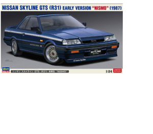 L.E.Hasegawa Nissan Skyline GTS (R31) Tôt Version' Nismo ' (1987) 1/24 20378