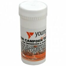 Youngs Campden Tablets Wine Making Home Brew Preserve & Sterilise 100 Pack