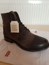 Levis Boots Ladies Womens Genuine Real Leather Boots Size UK 4.5   EUR 37