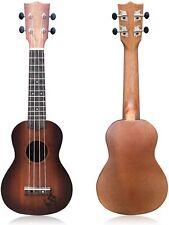 21 Inch Wooden Ukulele Guitar Soprano 4 Strings Musical Instruments Educational