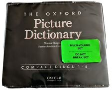 The Oxford University Press Picture Dictionary Compact Discs 1-4 New Sealed