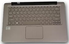 Acer Aspire S3-391 top touchpad upper case keyboard power button 604TH18001