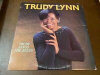 Trudy Lynn~Sings the Blues~Gary B.B. Coleman~VG+ R&B Soul LP~Ichiban Records