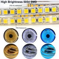 LED Strip light 5M 2835 5730 5050 5054 RGB CCT RGBW RGBWW white DC 12V 24V tape