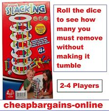STACKING GAME SKILL TEST GAME KIDS EDUCATIONAL TOY CLASSIC FAMILY FUN (jenga)