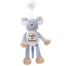 TEDDYKOMPANIET DIINGLISAR BABY ON BOARD MAUS MIT SAUGNAPF 24 CM NEU