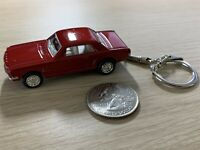 Kinsmart 1964 Red Ford Mustang 1:72 Diecast Keychain Key Ring #38510