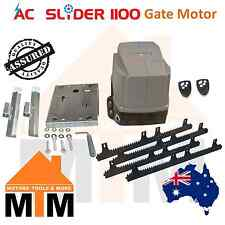 AC Slider Automatic Electric Sliding Slide Gate Motor Opener Remote 1100kg 240V