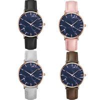 Fashion Women's Men's Classic Watch Leather Quartz Analog Casual Wrist Watch HOT