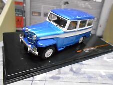 Willy Willy´s Jeep Geländewagen Station Wagon 4x4 1980 blau blue met SP IXO 1:43