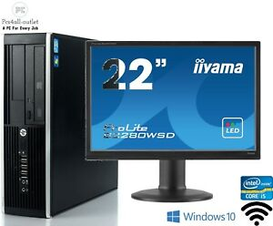Fast Hp 8300 Elite SFF Fast Intel i5 8GB 1TB Cheap Full Set Windows 10 Pro PC