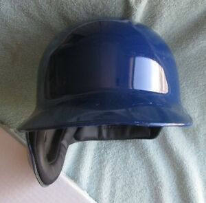 RAWLINGS S100 PRO COMP MLB BASEBALL BATTING HELMET ROYAL BLUE LEFT SIZE 7 3/8