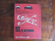 Workshop Manual for Mini 1959-73