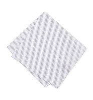 $95 Bar Iii Mens White Polka Dot Classic Handkerchief Cotton Pocket Square Hanky