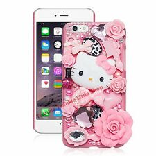 Hello Kitty iphone cases 3D silicon shockproof