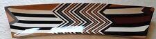 "MISSONI x Target 'Chevron Stripe (Brown)' Plate / Tray / Platter 15"" x 4"" *NEW*"