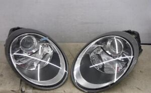 Genuine Porsche 911 997 Xenon Headlight Set Left Right 2005 2006 2007 2008