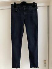 Mother Jeans Looker Ankle Fray Dunkelblau Gr.27