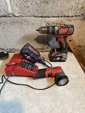 Milwaukee M18BPD 18V Cordless Combi Hammer Drill - Set