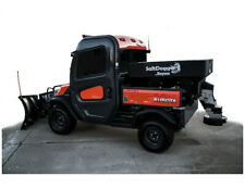 Buyers Salt Electric Poly Hopper Salt Sand Spreader Shpe0750x Utv Extended