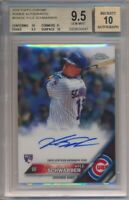 2016 Topps Chrome Kyle Schwarber Rookie Autographs BGS 9.5 Auto 10 #6641