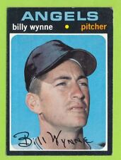 1971 Topps High Number - Billy Wynne (#718) California Angels