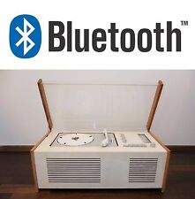 Restored! BRAUN SK5 Phonosuper Tube Radio Record Player RAMS Turntable Bluetooth