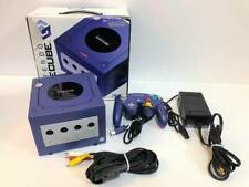 Nintendo GameCube Console Violet Blue Purple Controller with BOX and Manual EXC