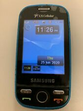 """Samsung Messager SCH-R630 Light Blue U.S. Cellular Cell Mobile """"AS IS"""" Phone BLM"""