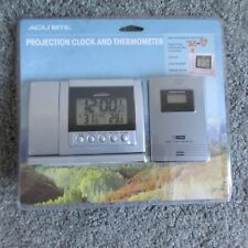 New Acurite Indoor Outdoor Temperature Thermometer Gauge Clock Remote Camping