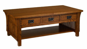 A. A. Laun Arts & Crafts Cocktail With 3 Drawers #8420  -  ON SALE!!!