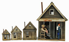 Banta Modelworks MINER'S CABIN O On30 Model Railroad Structure Laser Kit BM6078
