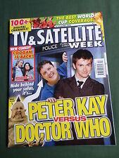 TV & SATELLITE WEEK UK MAGAZINE - KEIRA KNIGHTLEY- DOCTOR WHO -17 -23 JUNE 2006